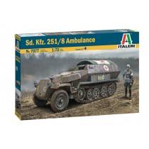 Sd.Kfz.251/8 Ausf.C Ambulance  1/72