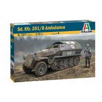 Sd.Kfz.251/8 Ausf.C Ambulance 1/72