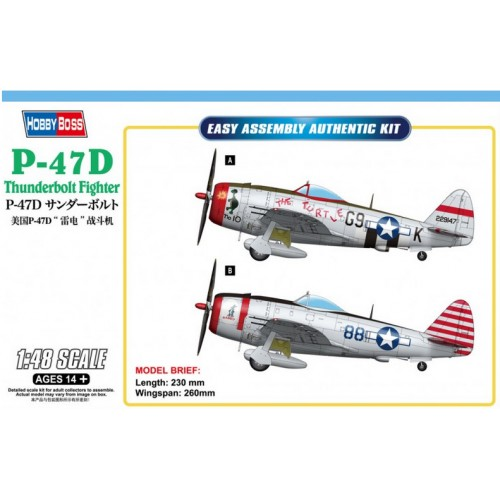 P-47D Thunderbolt Fighter 1/48