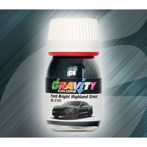 Ford Bright Highland Green Gravity Colors Paint– GC-2191