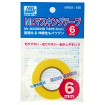 MR. MASKING TAPE 6  MM. 18  M.