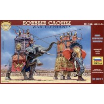 War Elephants III-I centuries BC 1/72