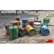 FUEL & OIL DRUMS Modern 1/35