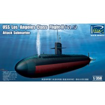 USS Los Angeles Class Flight II (VLS) Attack submarine 1/350