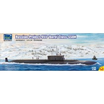 Russian Projekt 955 Borei class SSBN(Mod Model Kits X2)  1/700