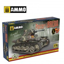 Panzer I Ausf. A Breda, Spanish Civil War light tank 1/16