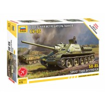 Soviet SU-85 Self Propelled Gun 1/72