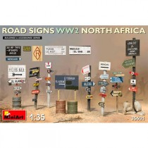 Acc.Road Signs WW2 N.Africa 1/35