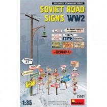 Accesorios Soviet Road Signs WW2 1/35