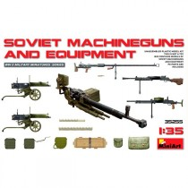 Acc Soviet Machine guns/Equipment 1/35