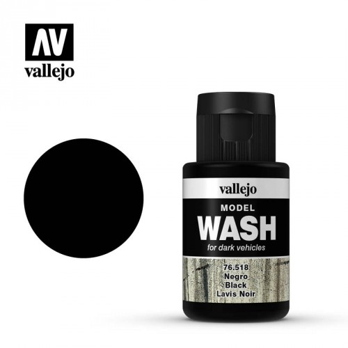 MODEL WASH: Black 35 ml