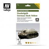 Set 6 colori Model Air da 8 ml - German Yellow (AFV Dunkelgelb)