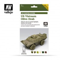 AFV Set 6 Color - US Vietnam Olive Drab
