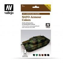 AFV Set 6 Color - NATO Camouflage