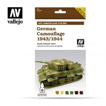 AFV Set 6 Color - German Camouflage 1943/1944