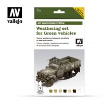 Weathering for Green vehicles