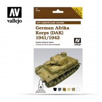 GERMAN AFRIKA KORPS (DAK) 1941/1942