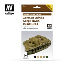 GERMAN AFRIKA KORPS (DAK) 1942/1944