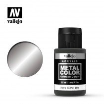 Metal color Acero 32 ml.