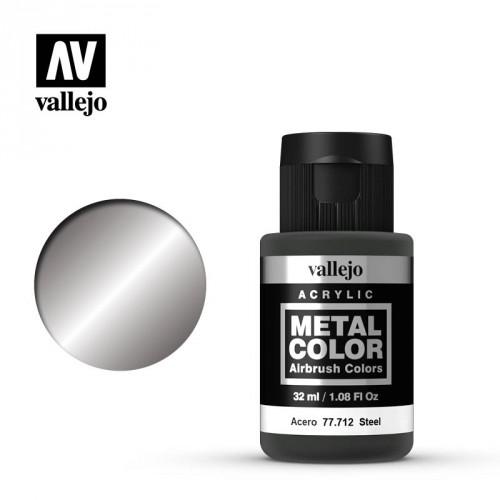 Metal color Steel 32 ml.