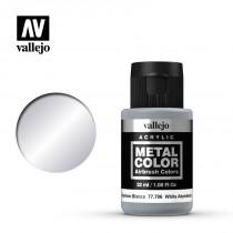 Metal color Aluminio blanco 32 ml.