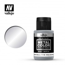 Metal color White aluminium 32 ml.