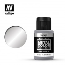 Metal color Cromo 32 ml.