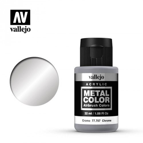 Metal color Cromo 32 ml.