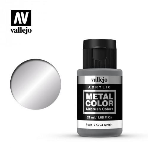 Metal color Plata 32 ml.