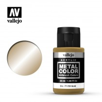 Metal color Gold 32 ml.