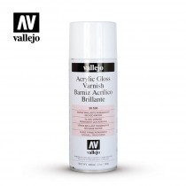 BARNIZ BRILLO ACRILICO ESPRAY VALLEJO 400ml.