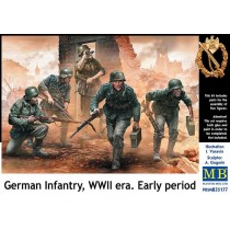 GERMAN MACHINE GUN CREW 1/35 MB