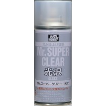 MR. SUPER CLEAR BRILLO SPRAY 170 ML.