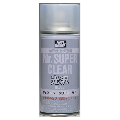 MR. SUPER CLEAR GLOSS SPRAY 170 ML.