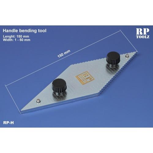 Handle bending tool