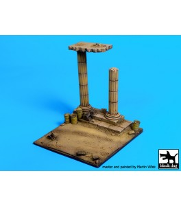 Africa column base 9.5X10 CTMS.