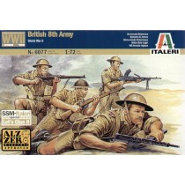 British (WWII) 8th Army 1/72