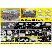 Pz.Kpfw.III Ausf.J Initial Production / Early Production (2 in 1) 1/35