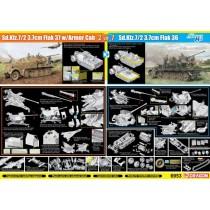 Sd.Kfz.7/2 3.7cm FlaK 37 w/Armor Cab or Sd.Kfz.7/2 3.7cm FlaK 36  1/35
