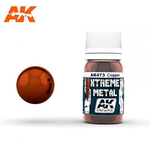 XTREME METAL COBRE 30 ML.