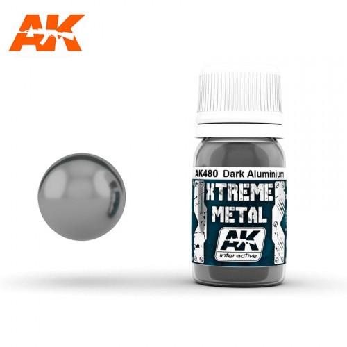 XTREME METAL DARK ALUMINIUM 30 ML.