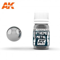 XTREME METAL POLISHED ALUMINIUM 30 ML.