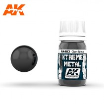 XTREME METAL GUN METAL 30ML