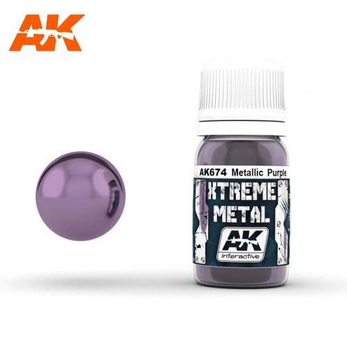 XTREME METAL METALLIC PURPLE 30ml