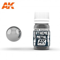 XTREME METAL STAINLESS STEEL 30ml