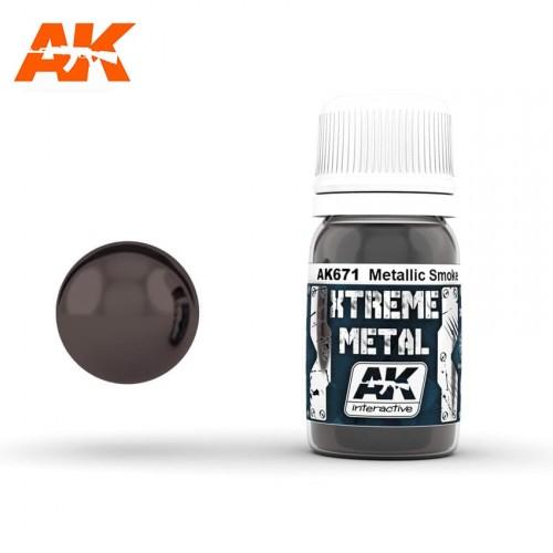 XTREME METAL METALLIC SMOKE 30ml