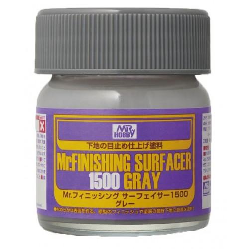 MR. SURFACER 1500 GRIS 40 ML.