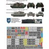 Calcas para Leopard 2A4 y Leopardo 2E en España 1/35