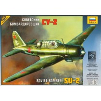 Sukhoi Su-2 Soviet Light Bomber. New tooling! 1/48