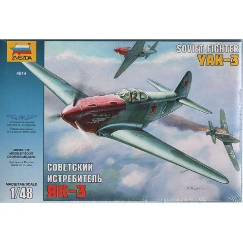 Yakovlev YAK-3 Soviet WWII Fighter 1/48